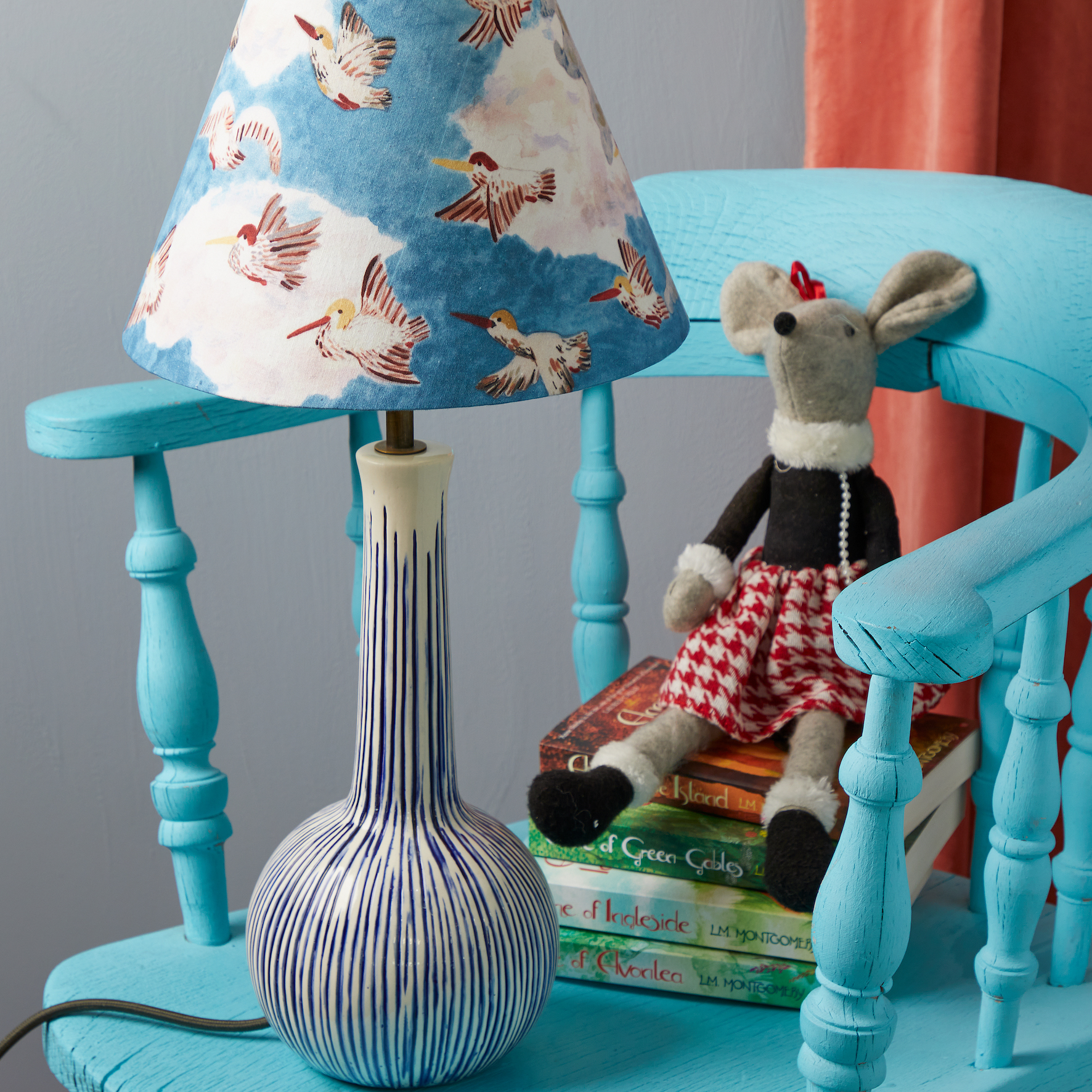 Pooky x Maude Smith Children's lampshades